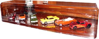 Diecast 1:64 Hauler Trucks /Cars Crystal Clear Acrylic Display Case Clear Base PSM-Powers Sports Memorabilia