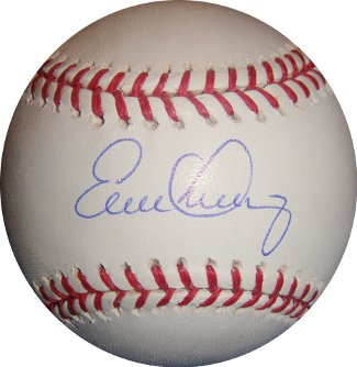 Evan Longoria signed Official Major League Baseball- Longoria Hologram (Tampa Bay Rays) PSM-Powers Sports Memorabilia