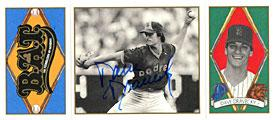 Dave Dravecky Autographed / Signed 1993 UpperDeck No.44 San Diego Padres Baseball BAT Card PSM-Powers Sports Memorabilia