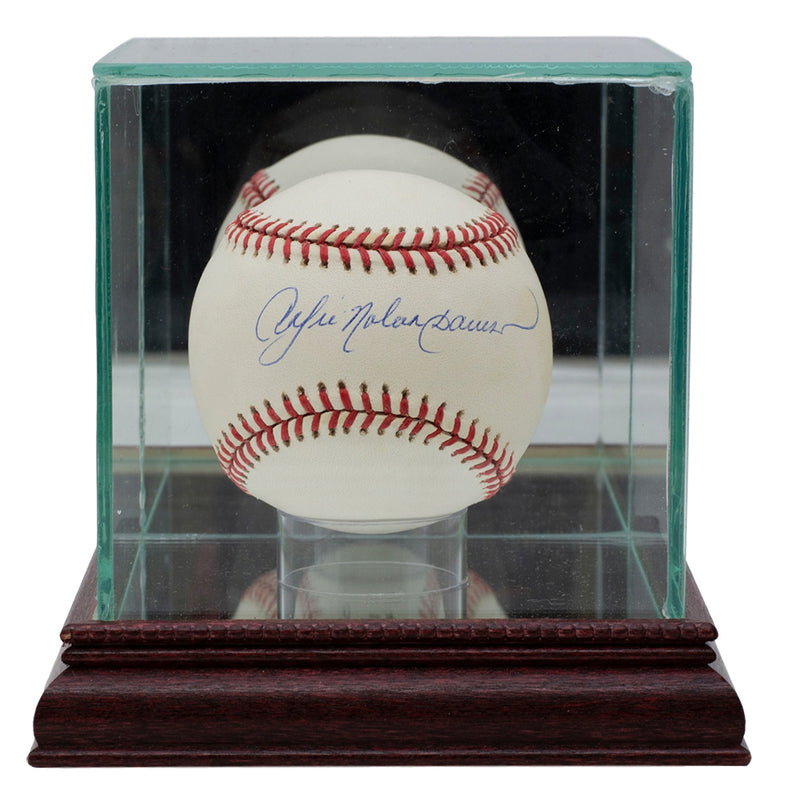 Andre Dawson Chicago Cubs Signed National League Baseball w/ Case JSA PSM-Powers Sports Memorabilia