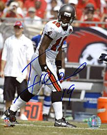 Ike Hilliard Autographed Signed 8x10 Photo Tampa Bay Buccaneers PSM-Powers Sports Memorabilia