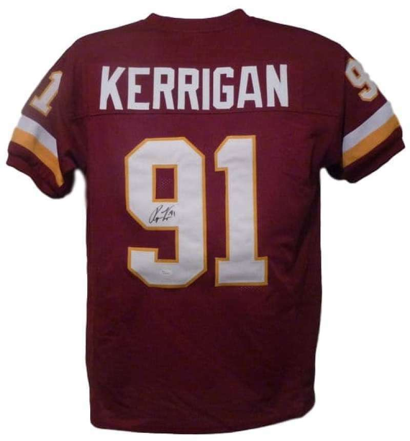 Ryan Kerrigan Autographed Washington Redskins size XL jersey JSA PSM-Powers Sports Memorabilia