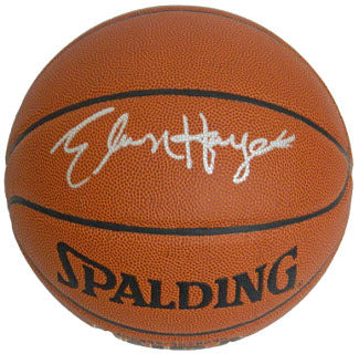 Elvin Hayes signed Indoor/Outdoor Basketball PSM-Powers Sports Memorabilia