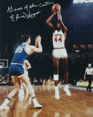Elvin Hayes signed Houston Cougars 16X20 Photo vs UCLA 1968 Game of the Century PSM-Powers Sports Memorabilia