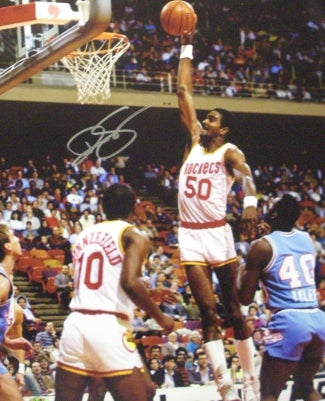 Ralph Sampson signed Houston Rockets 16x20 Photo PSM-Powers Sports Memorabilia