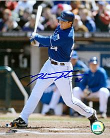 Mark Teahen Autographed / Signed Kansas City Royals Baseball 8x10 Photo PSM-Powers Sports Memorabilia