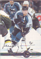 Vincent Damphousse San Jose Sharks 2001 Pacific Autographed Card. This item comes with a certificate of authenticity from Autograph-Sports. PSM-Powers Sports Memorabilia