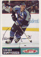 Vincent Damphousse San Jose Sharks 2003 Topps Total Autographed Card. This item comes with a certificate of authenticity from Autograph-Sports. PSM-Powers Sports Memorabilia