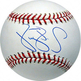 Darryl Strawberry signed Official Major League Baseball (New York Mets & Yankees) PSM-Powers Sports Memorabilia