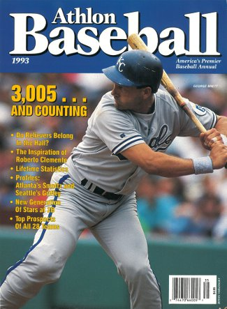 George Brett unsigned Kansas City Royals Athlon Sports 1993 MLB Baseball Preview Magazine PSM-Powers Sports Memorabilia