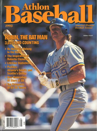 Robin Yount unsigned Milwaukee Brewers Athlon Sports 1993 MLB Baseball Preview Magazine PSM-Powers Sports Memorabilia