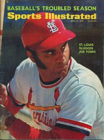 Joe Torre 1972 Sports Illustrated PSM-Powers Sports Memorabilia