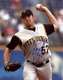 Zach Duke Autographed / Signed Pittsburgh Pirates 8x10 Photo PSM-Powers Sports Memorabilia
