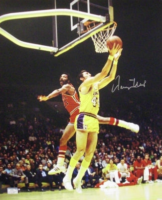 Jerry West signed Los Angeles Lakers 16X20 Photo- JSA Hologram #CC09318 PSM-Powers Sports Memorabilia