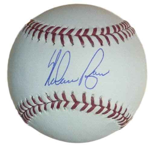Nolan Ryan Autographed Texas Rangers OML Baseball (Name Only) PSM-Powers Sports Memorabilia