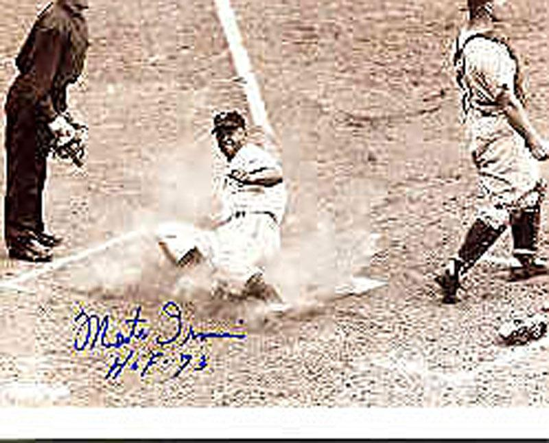 Monte Irvin Autographed/Signed 8x10 Photo HOF PSM-Powers Sports Memorabilia