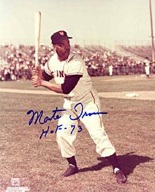 Monte Irvin HOF-73 Signed / Autographed 8x10 Photo PSM-Powers Sports Memorabilia