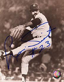 Luis Tiant Autographed / Signed Black & White New York Yankees Baseball 8x10 Photo PSM-Powers Sports Memorabilia