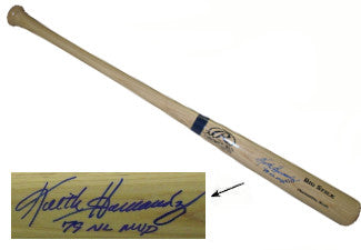 Keith Hernandez signed Rawlings Adirondack Pro Blonde Bat 79 NL MVP (St. Louis Cardinals) PSM-Powers Sports Memorabilia