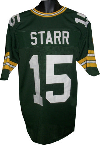 Bart Starr unsigned Green TB Custom Stitched Pro Style Football Jersey XL PSM