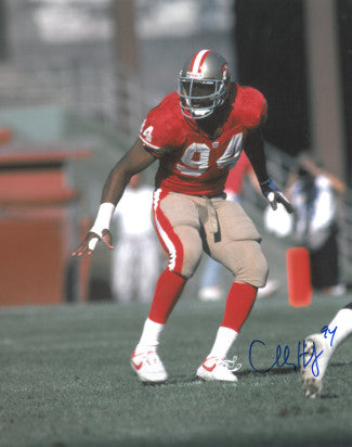 Charles Haley signed San Francisco 49ers 16X20 Photo PSM-Powers Sports Memorabilia
