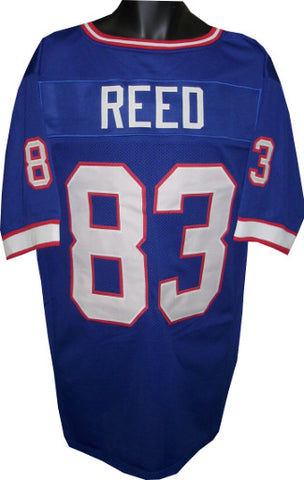 Andre Reed unsigned Blue TB Custom Stitched Pro Style Football Jersey XL  PSM-Powers Sports d0eb847ad