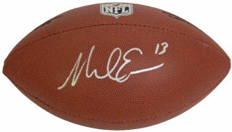 Mike Evans signed NFL Wilson Rep Composite Full Size Football #13 - Schwartz Hologram (Tampa Bay Buccaneers) PSM-Powers Sports Memorabilia