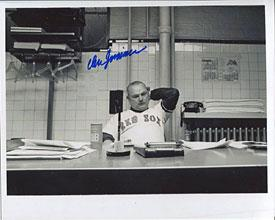 Don Zimmer Autographed/Signed 8x10 Photo PSM-Powers Sports Memorabilia