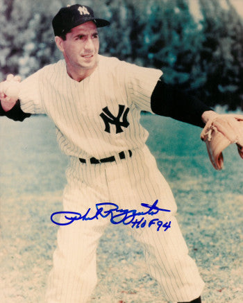 Phil Rizzuto signed New York Yankees 8x10 Photo HOF 94 (deceased) PSM-Powers Sports Memorabilia