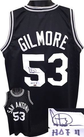 Artis Gilmore signed Black TB Custom Stitched Basketball Jersey HOF 11 XL PSM