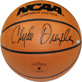 Clyde Drexler signed Wilson NCAA Indoor/Outdoor Basketball- Steiner Hologram (Houston Cougars) PSM-Powers Sports Memorabilia