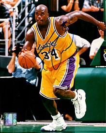 Shaquille O'Neal Autographed/Signed 8x10 Photo PSM-Powers Sports Memorabilia
