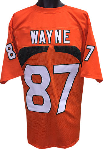 Reggie Wayne Orange TB Custom Stitched College style Football Jersey XL PSM-Powers Sports Memorabilia