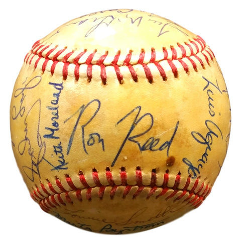 1981 Phillies 21 Autos MLB Baseball w/ Free Ball Cube McGraw PSA PSM-Powers Sports Memorabilia