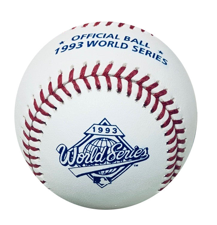 1993 World Series Baseball Toronto Blue Jays vs. Philadelphia Phillies-Powers Sports Memorabilia