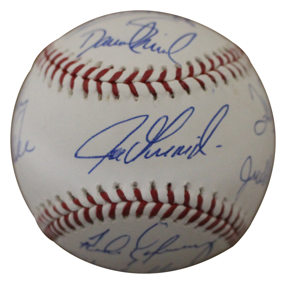 1993 Colorado Rockies Team Autographed/Signed OML Baseball 9 Sigs JSA PSM-Powers Sports Memorabilia