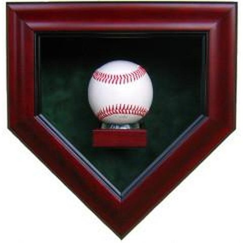 1 Baseball Homeplate Display Case