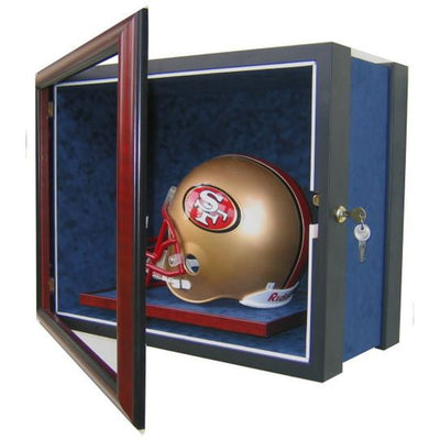 Football Full Size Helmet Display Case-Powers Sports Memorabilia
