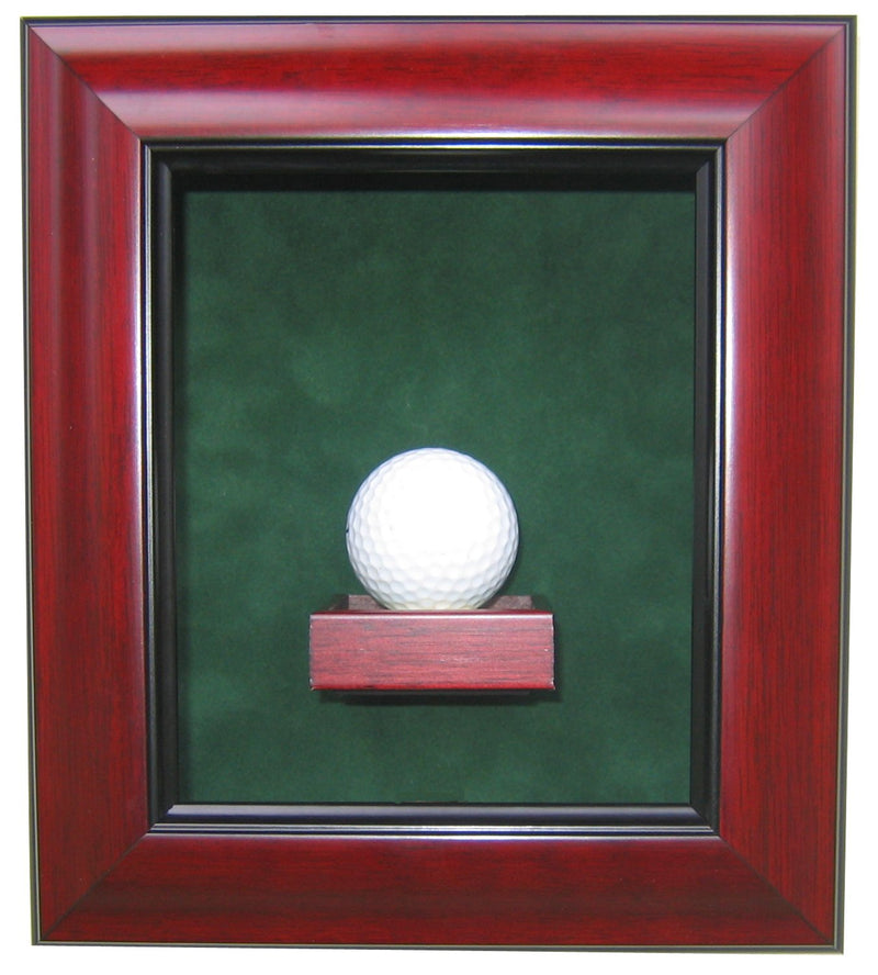 1 GOLF BALL DISPLAY CASE-Powers Sports Memorabilia