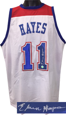 60fb4a08b5d Elvin Hayes signed White TB Custom Stitched Pro Style Basketball Jersey XL  PSM-Powers Sports