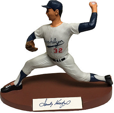 Sandy Koufax signed Brooklyn Dodgers 1989 Salvino Sport Legends Figurine/Statue Artist Proof LTD 300- Beckett Hologram #A84623 PSM