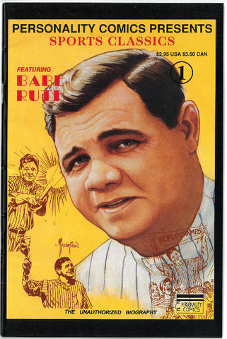 Babe Ruth 1991 Personality Comics Sports Classics #1 PSM-Powers Sports Memorabilia