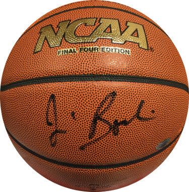 Jim Boeheim signed Wilson Final Four NCAA Indoor/Outdoor Basketball (Syracuse Orange)- Steiner Hologram PSM-Powers Sports Memorabilia
