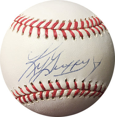Ken Griffey, Jr. signed Official American League Baseball- JSA Hologram #F95292 (Seattle Mariners) PSM-Powers Sports Memorabilia