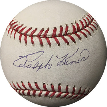 Ralph Kiner signed Official Major League Baseball- JSA Hologram #F69395 (Pittsburgh Pirates) PSM-Powers Sports Memorabilia