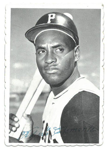 Roberto Clemente Pittsburgh Pirates 1969 Topps Deckle Edge Baseball Card #27 PSM-Powers Sports Memorabilia