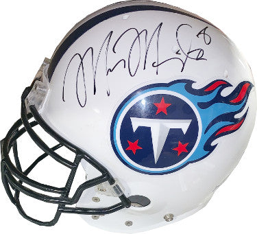 Marcus Mariota signed Tennessee Titans Official Air Game Used Proline Helmet #8- JSA Hologram #DD64022 PSM-Powers Sports Memorabilia