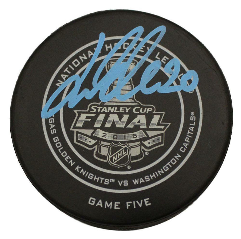 Lars Eller Autographed Washington Capitals Official Stanley Cup Puck FANá PSM-Powers Sports Memorabilia