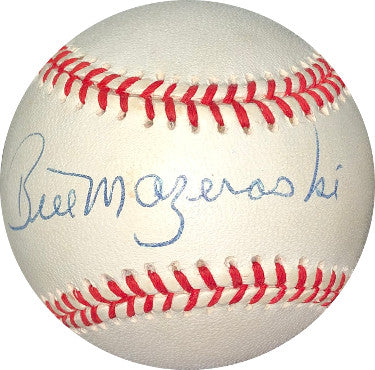 Bill Mazeroski signed RONL Rawlings Official National League Baseball- JSA Hologram #DD64404 (Pittsburgh Pirates) PSM-Powers Sports Memorabilia