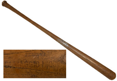Joe Dimaggio Vintage 1940Æs Store Model #220 Southwest Manufacturing Used Baseball Bat PSM-Powers Sports Memorabilia